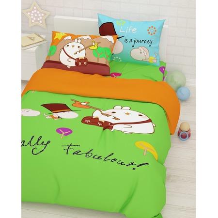 Купить Детский комплект постельного белья Сирень «Поход»