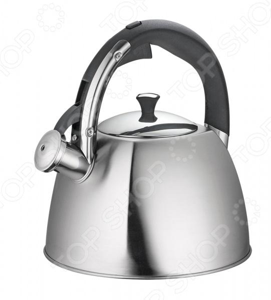Фото - Чайник со свистком Regent 93-TEA-30 чайник 3 л со свистком regent tea 93 tea 31