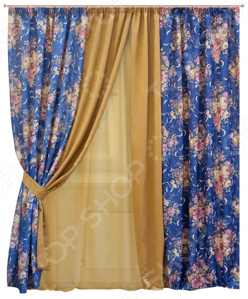 Комплект штор Zlata Korunka 55559 комплект штор с покрывалом для спальни в москве