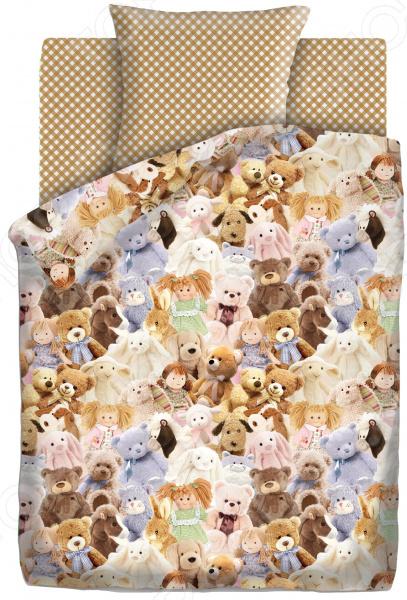 Детский комплект постельного белья Непоседа «Игрушки» детский комплект постельного белья непоседа на рыбалке