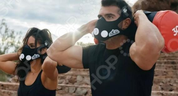 Маска-тренажер дыхания для спортивных нагрузок Elevation Training Mask 2.0 2