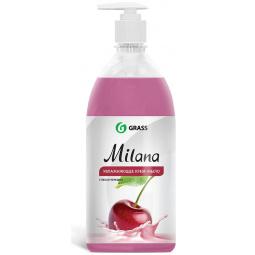 Крем-мыло жидкое увлажняющее GraSS Milana «Спелая черешня»