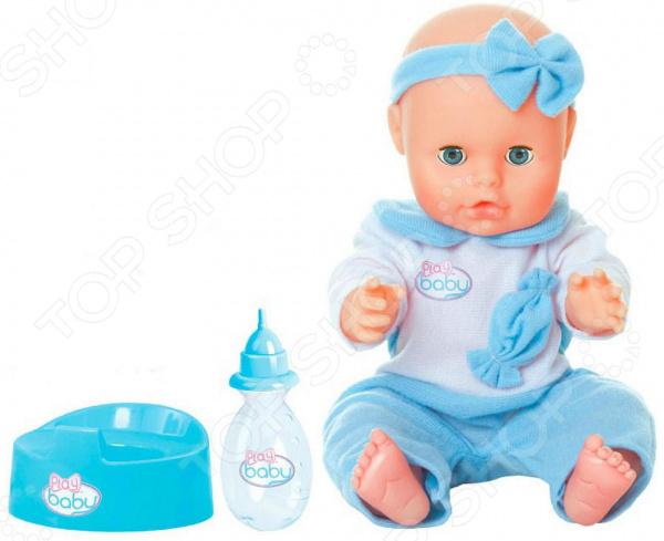 Zakazat.ru: Пупс Toys Lab Play Baby в голубом