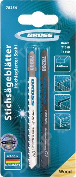 Пилки для электролобзика GROSS 78254