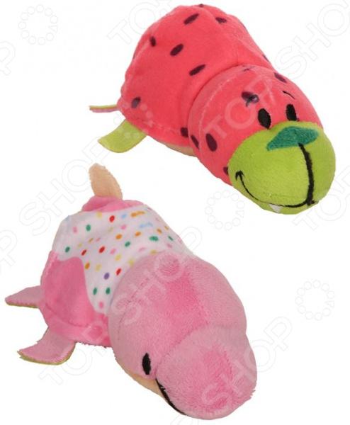 Мягкая игрушка ароматизированная 1 Toy «Вывернушка 2в1: Морж-Дельфин»