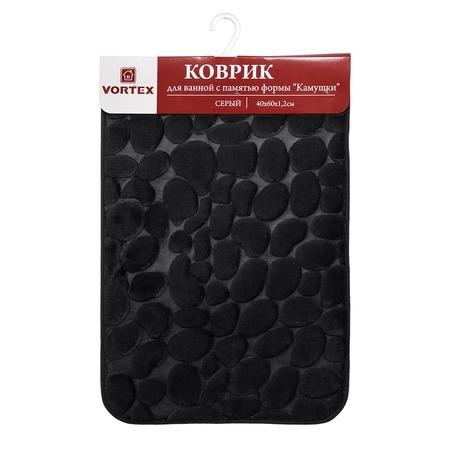 Купить Коврик для ванной комнаты с памятью формы Vortex «Камушки» 24117
