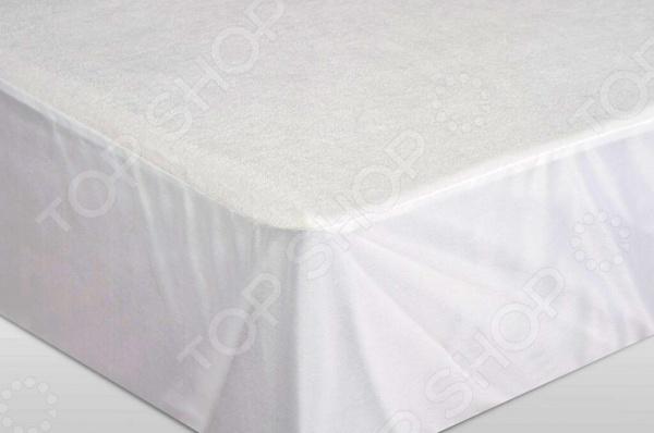 Простыня водонепроницаемая на резинке Ecotex AquaStop Cotton