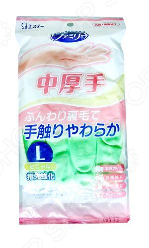 Фото - Перчатки хозяйственные ST Family 711895 защитные антистатические перчатки из углеродного волокна ermar erma