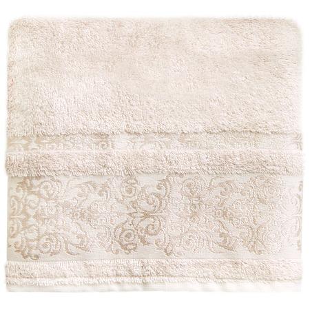 Купить Полотенце банное BONITA «Дамаск». Цвет: шампань
