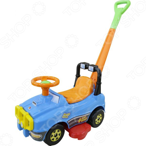 Машина-каталка POLESIE «Джип» с ручкой