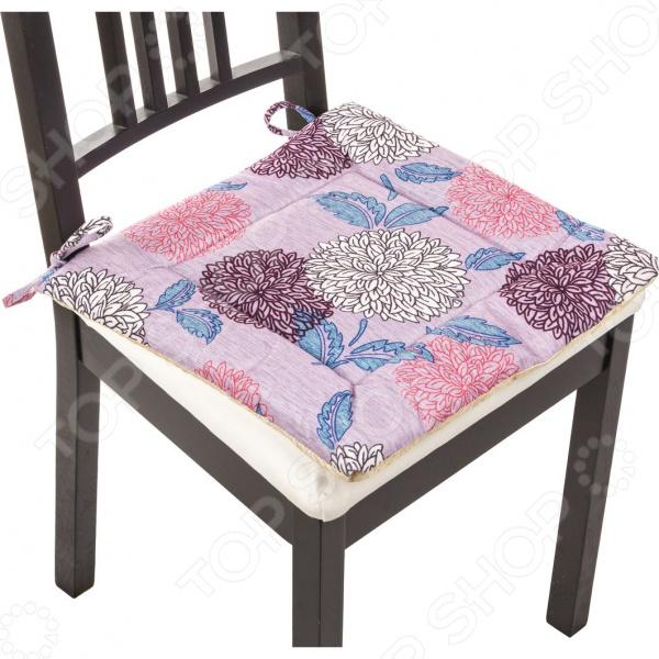 Сидушка на стул Santalino «Астра» 847-036 сидушка на стул santalino райский сад 850 818 5