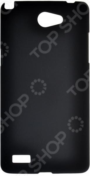 Чехол защитный skinBOX LG Max L Bello 2 аксессуар чехол накладка lg max l bello 2 skinbox 4people white t s llb2 002 защитная пленка