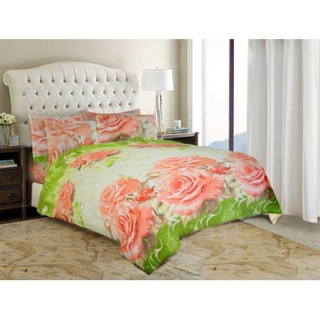 Комплект постельного белья «Дикая роза». Евро