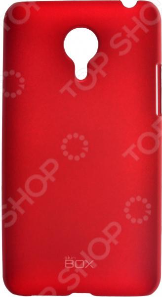 Чехол защитный skinBOX Meizu MX4 чехлы для телефонов skinbox накладка для lg nexus 5 skinbox серия 4people защитная пленка в комплекте