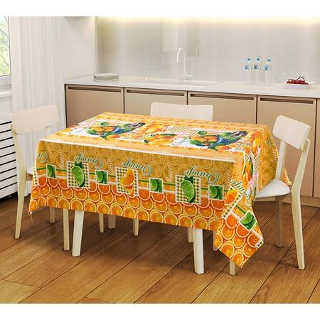 Купить Набор: скатерть и 2 полотенца ТексДизайн «Мандарин» 1719359
