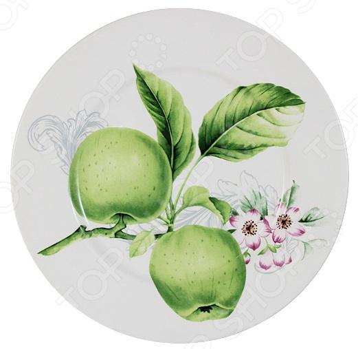 Тарелка Imari «Зеленые яблоки» IM35031-A2211AL банка для сыпучих продуктов imari зеленые яблоки im55060 1 a2211al