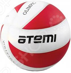 Мяч волейбольный ATEMI OLIMPIC Мяч волейбольный Atemi OLIMPIC /Красный/Белый