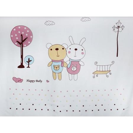 Купить Плед детский Dream Time Happy Baby «Мишка и зайка»