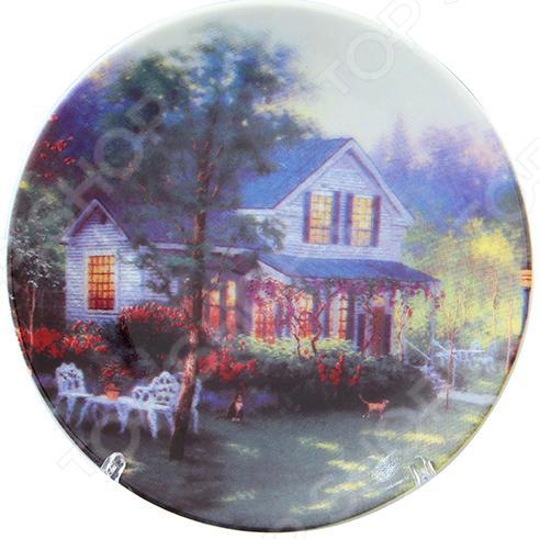 Тарелка декоративная Elan Gallery «Усадьба» Elan Gallery - артикул: 970351