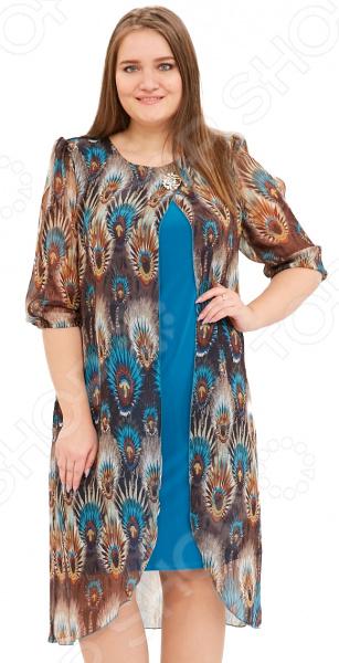 Платье Pretty Woman «Лесная нимфа». Цвет: голубой