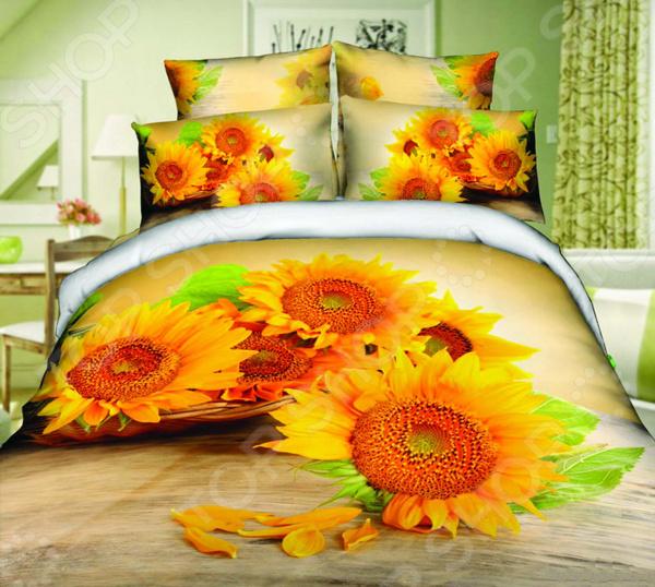 Комплект постельного белья Mango «Подсолнухи» комплекты белья linse комплект белья