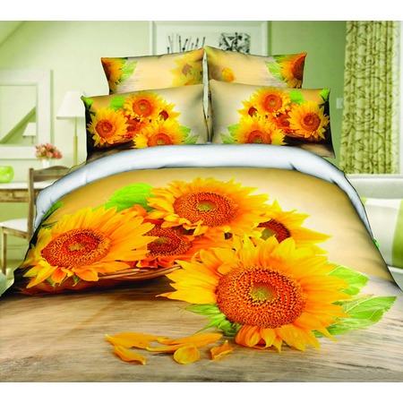 Купить Комплект постельного белья Mango «Подсолнухи». 2-спальный