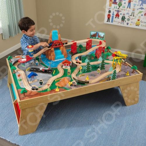 Набор игровой для мальчика KidKraft «ЖД станция»