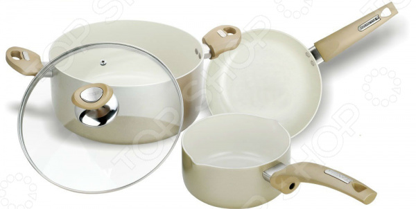 Набор кухонной посуды Vitesse VS-2218 набор посуды travola с керамическим покрытием 3 предмета