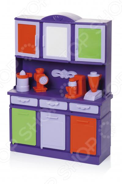 Набор мебели для куклы Огонек «Буфет»
