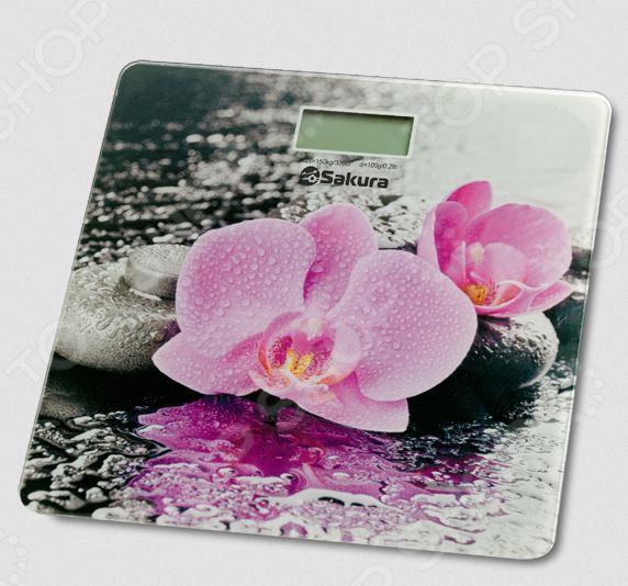Весы Sakura SA-5072 Весы Sakura SA-5072F /орхидеи