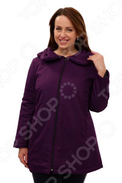 Куртка СВМ-ПРИНТ «Восточный ветер». Цвет: фиолетовый