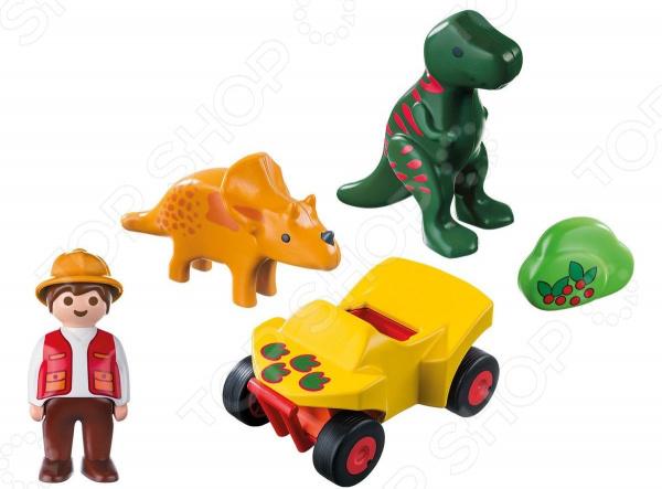 Конструктор для малыша Playmobil «Исследователь с динозаврами»