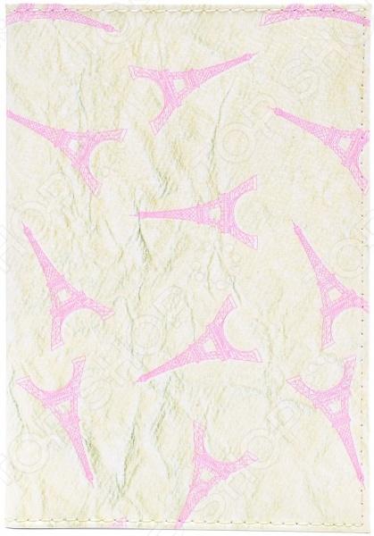 Обложка для автодокументов кожаная Mitya Veselkov «Париж в коже»