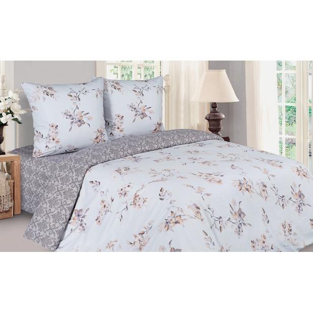 фото Комплект постельного белья Ecotex с резинкой «Поэтика. Паола». 2-спальный