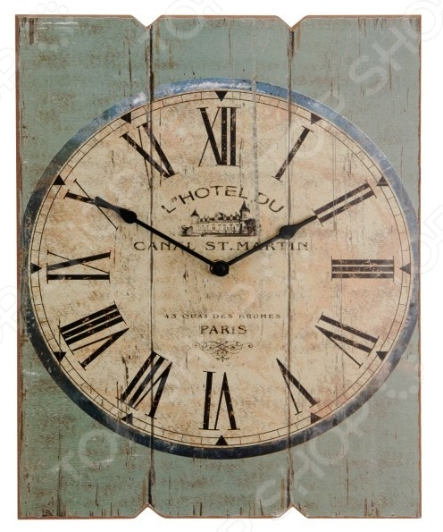Часы настенные Mitya Veselkov «L'Hotel Du - зеленое дерево» часы настенные union hotel