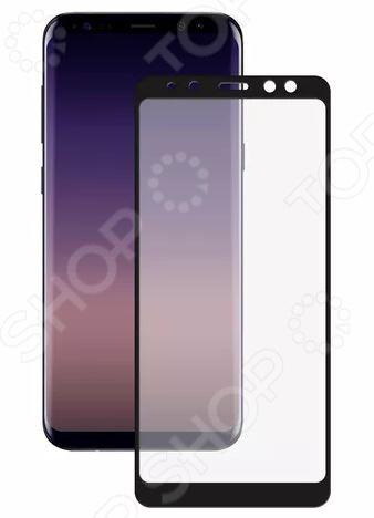 Стекло защитное 2.5D Media Gadget для Samsung Galaxy A8 2018 media gadget для samsung galaxy ace 4 глянцевая