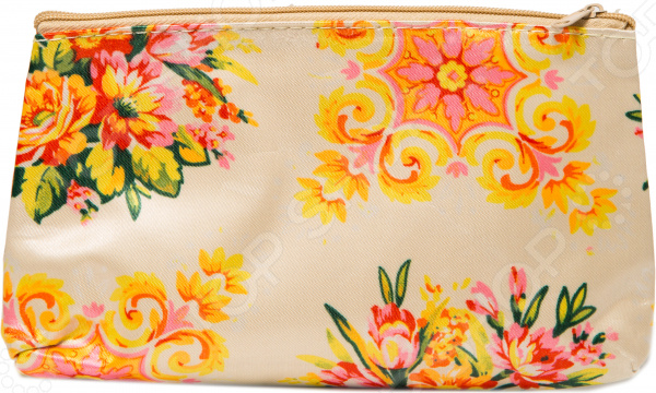 Косметичка Mitya Veselkov «Цветы на желтом»