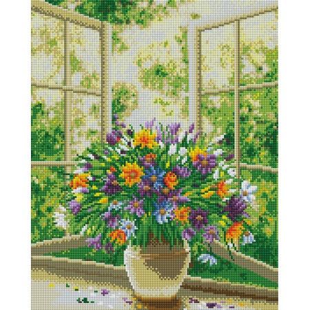 Купить Набор для творчества Color Kit «Алмазная мозаика». Рисунок: «Лето»