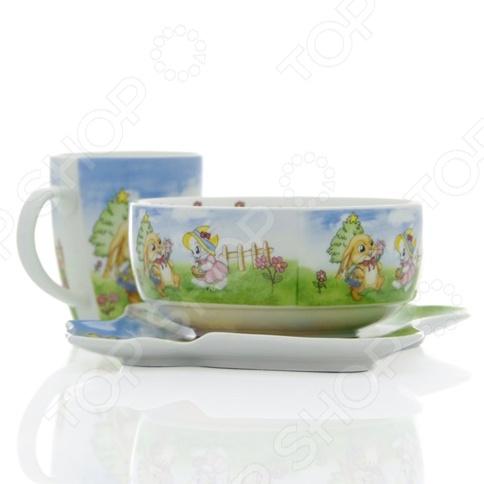 Набор посуды для детей Rosenberg 8772