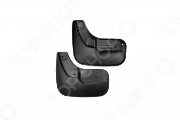Брызговики передние Novline-Autofamily LADA Vesta 2015 подкрылок с шумоизоляцией передний левый sd novline autofamily nls 52 33 001 для lada vesta 2015