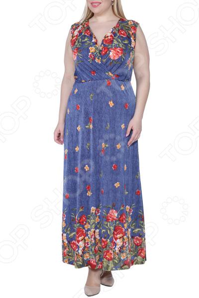 Платье Kidonly «Цветочный блюз». : оранжевый