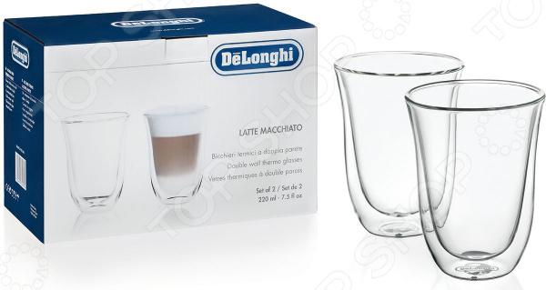 Набор чашек для кофе DeLonghi «Лате Макиато»