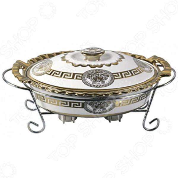 Мармит Zeidan овальный «Версаче» просто вкусно праздничный стол