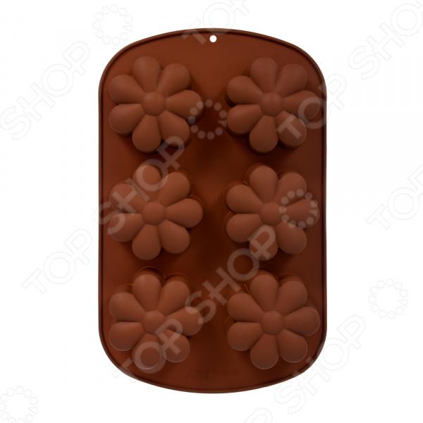 Форма для выпечки силиконовая Marmiton «Ромашка» 17201. В ассортименте