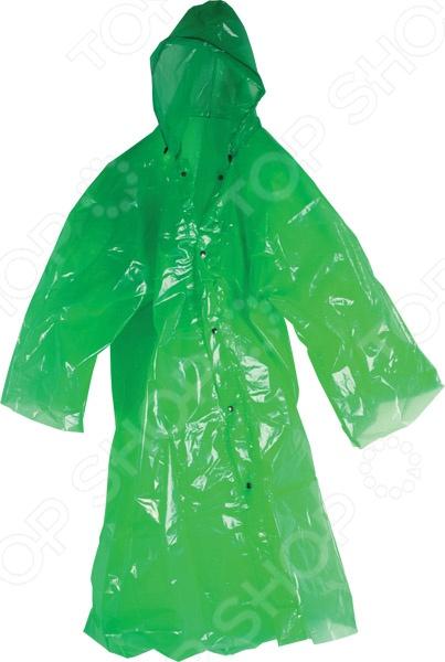 Плащ-дождевик для рыбалки Archimedes 92719 поможет вам пережить с комфортом даже самую дождливую рыбалку, охоту или туристический поход. Вы всегда сможете взять с собой в поход легкий и компактный дождевик, который надежно укроет вас дождя и ветра. Он легко складывается и убирается, поэтому не займет много места в вашем рыбацком рюкзаке или сумке. Изделие выполнено из высококачественного водонепроницаемого полиэтилена, который легок в использовании и уходе. Дождевик застегивается на кнопки, оформлен капюшоном, за счет чего прекрасно подойдет для велосипедистов, пешеходов и дачников. Размер изделия: 200х250 мм.