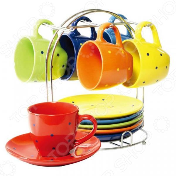 Чайный набор Wellberg Glamour WB-23607 стеллар детская посуда чайный набор