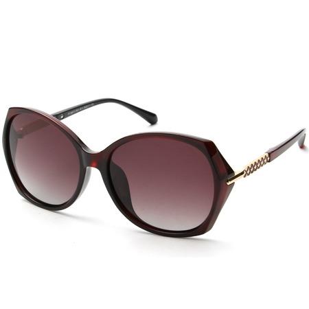 Купить Солнцезащитные очки Laura Amatti «Мистика». Цвет: коричневый