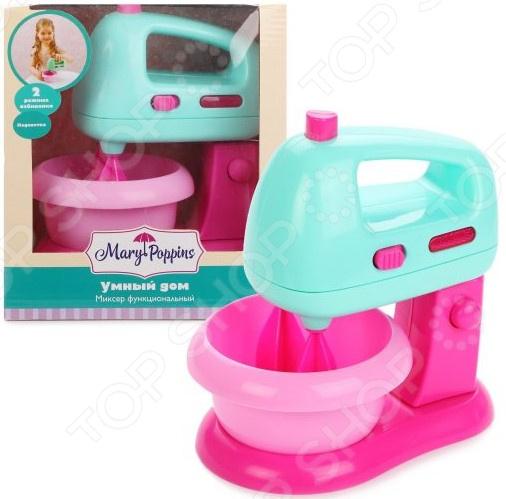 Миксер игрушечный Mary Poppins «Умный дом» тостер игрушечный mary poppins умный дом