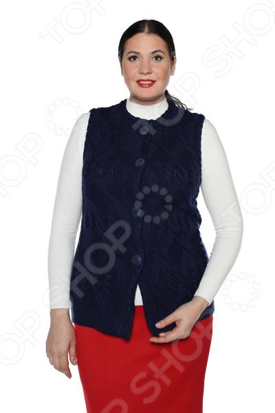 Жилет Milana Style «Любимая прохлада». Цвет: синий платье milana style milana style mi038ewxjv28