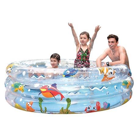 Купить Бассейн надувной Jilong Ocean Fun 3-ring Pool JL017267NPF